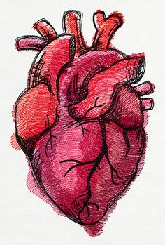 236x349 Broken Heart Pencil Drawing