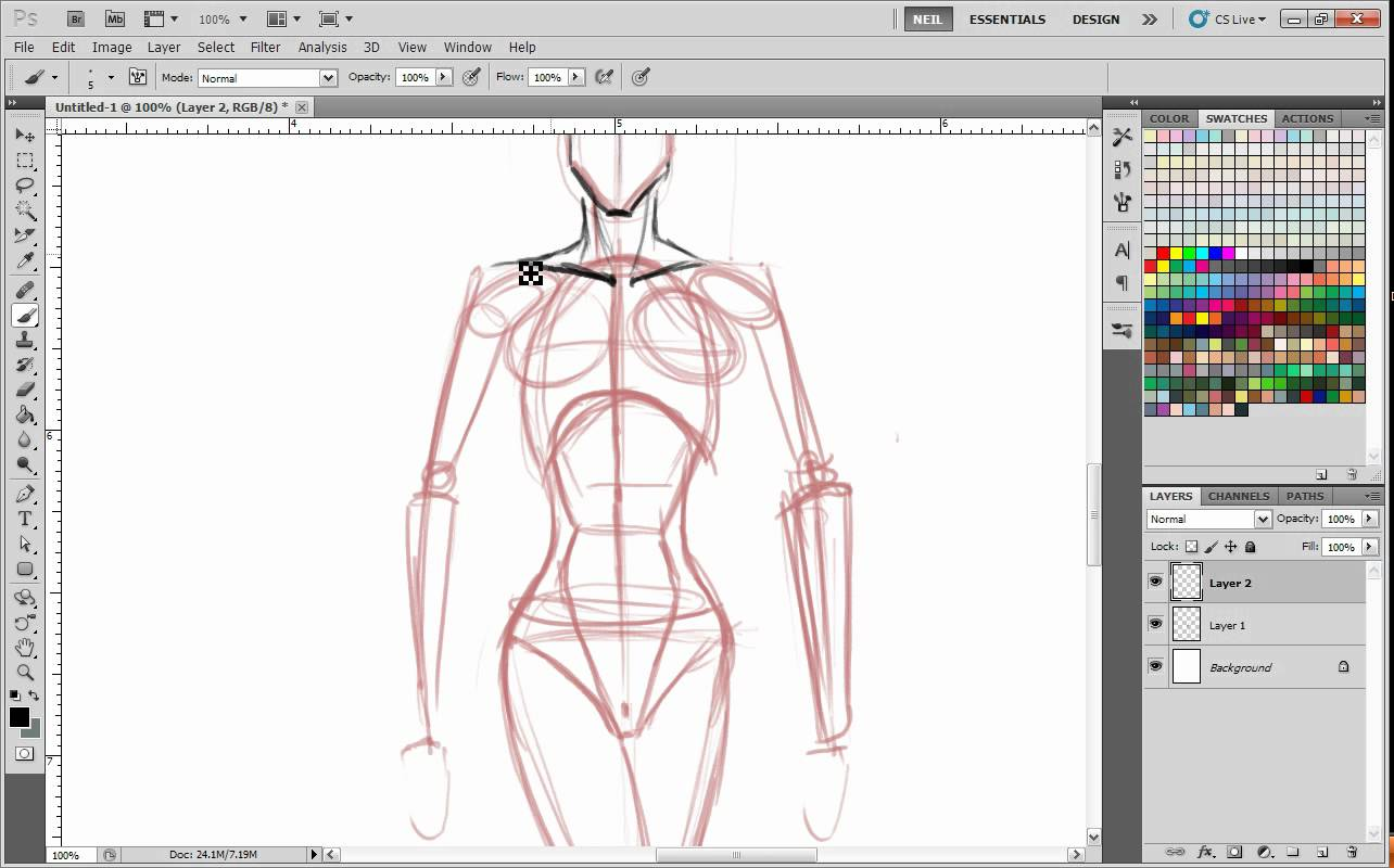 1284x800 How To Master Drawing Poses From Your Mind