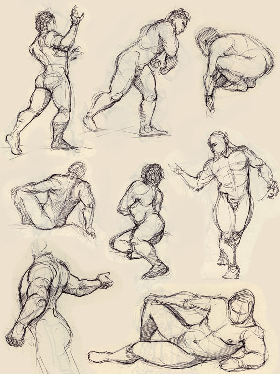 576x768 Some Figure Drawing By Luthie13