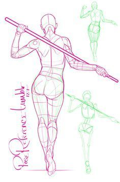 236x358 A Collection Of Anatomy And Pose References For Artists. More