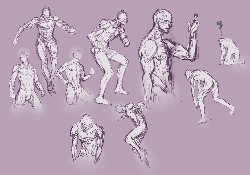 Human Poses For Drawing at GetDrawings.com | Free for personal use ...