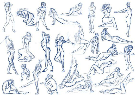 562x398 Female Pose Practice By Sajophoe D7ueom4.png Anatomy
