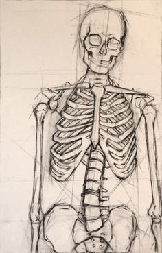 236x369 How To Draw A Skeleton