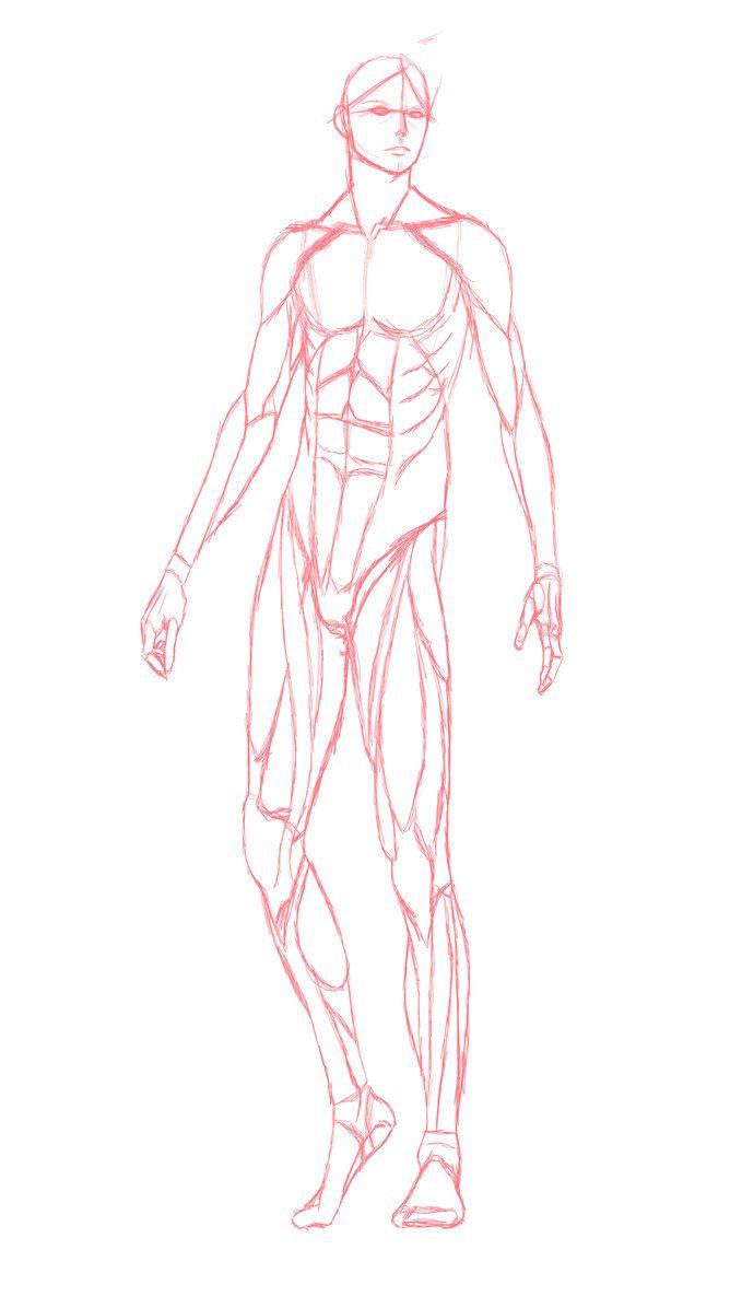 668x1196 Male Body By Musashi2011 D4qeh59.jpg Drawings