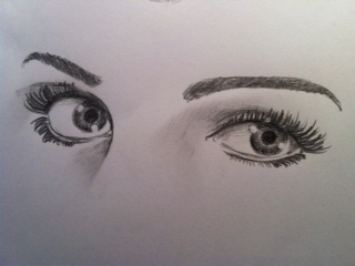 320x240 14 Best How To Draw Human Eyes Images On Drawing Art