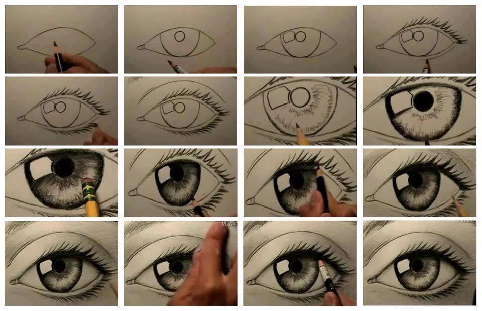 960x619 Diy Drawing Human Eye Crafts!!!!!! Human Eye