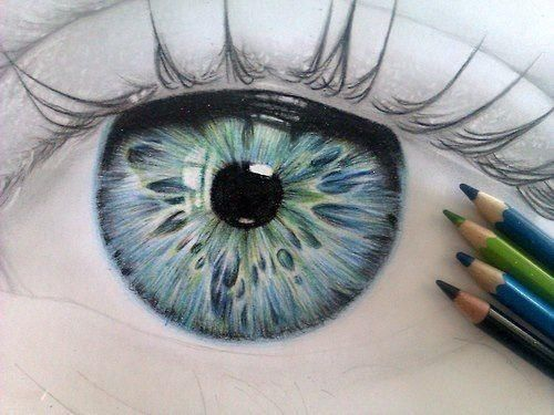 500x375 I Hate When People Do This Crap. Human Eye, Eye And Drawings