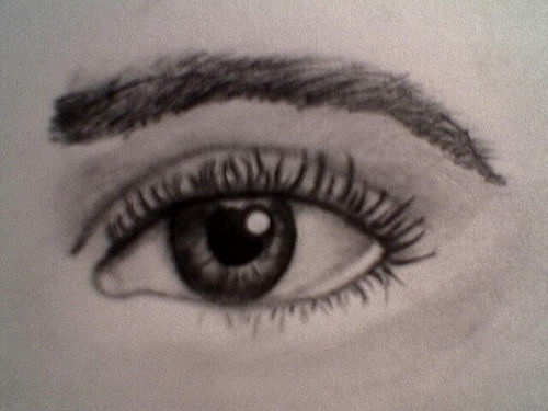 500x375 Pencil Sketches And Drawings How To Draw Realistic Human Eyes