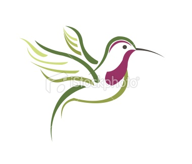 380x324 Hummingbird Drawings Abstract Hummingbird Vector Photo