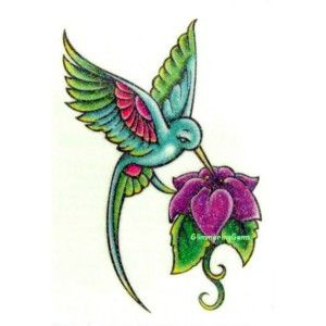 300x300 Hummingbird Drawings Hummingbird Tattoo Designs Free Tattoos