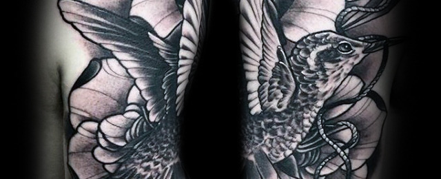 640x260 80 Hummingbird Tattoo Designs For Men