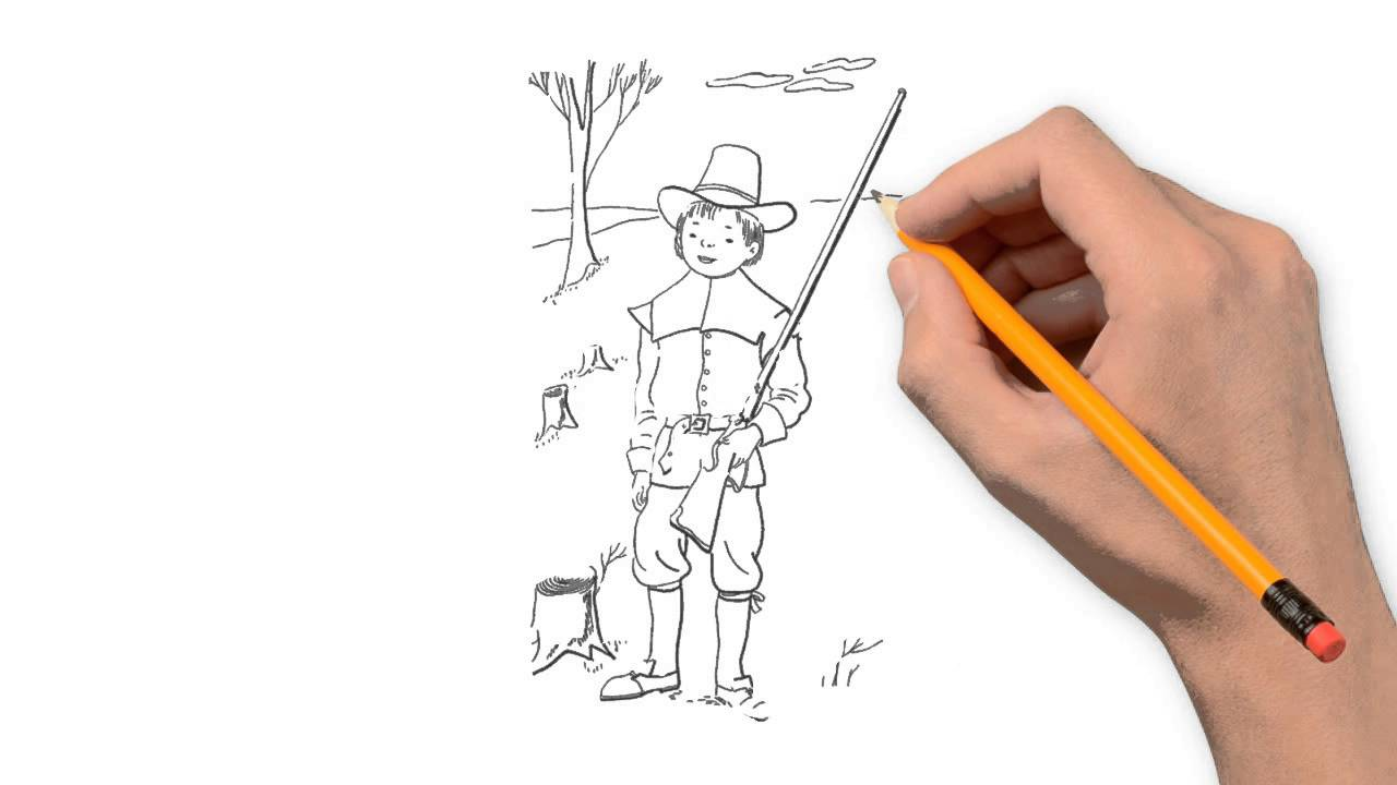 1280x720 Hunter Pencil Things To Draw Step By Step