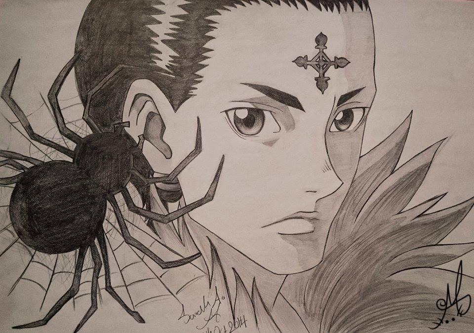 960x675 Chrollo Drawing From Hunter X Hunter By Sarahserene3
