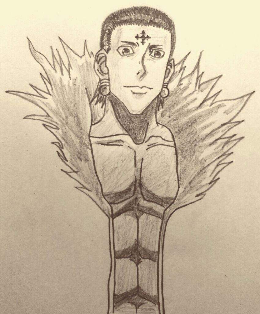 850x1024 Drawing Chrollo Lucilfer From Hunter X Hunter Anime Amino