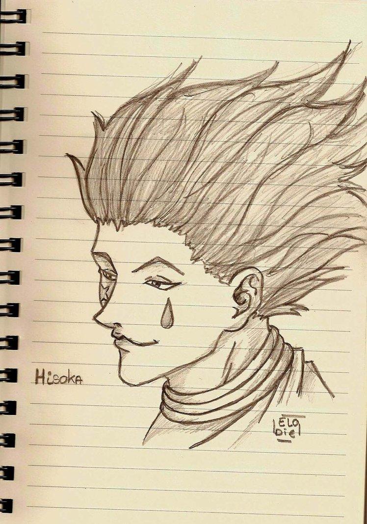 748x1067 Hunter X Hunter Sketch Hisoka By Neko Tine