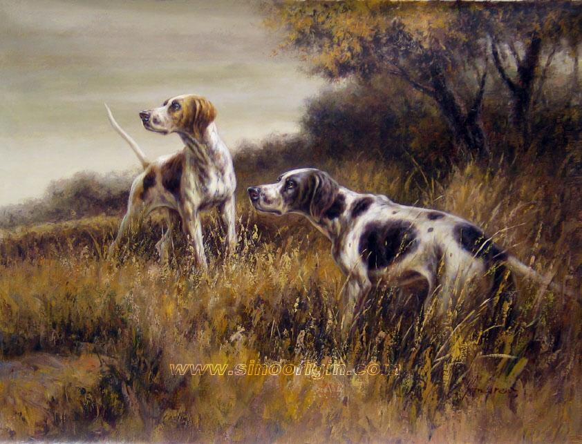 842x643 Charles Henry Ley Family Hunting Dogs, Draw And Dog
