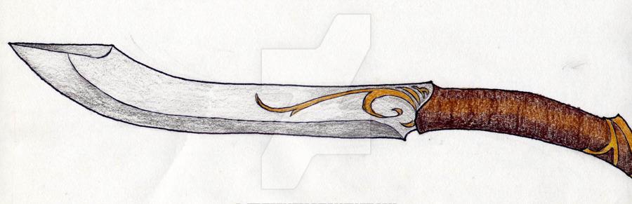 900x291 Aragorn's Hunting Knife By Jediprincess