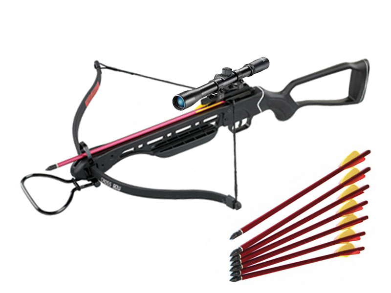 800x600 150lb Hunting Rifle Crossbow Draw Weight Recurve Aluminum Stock +