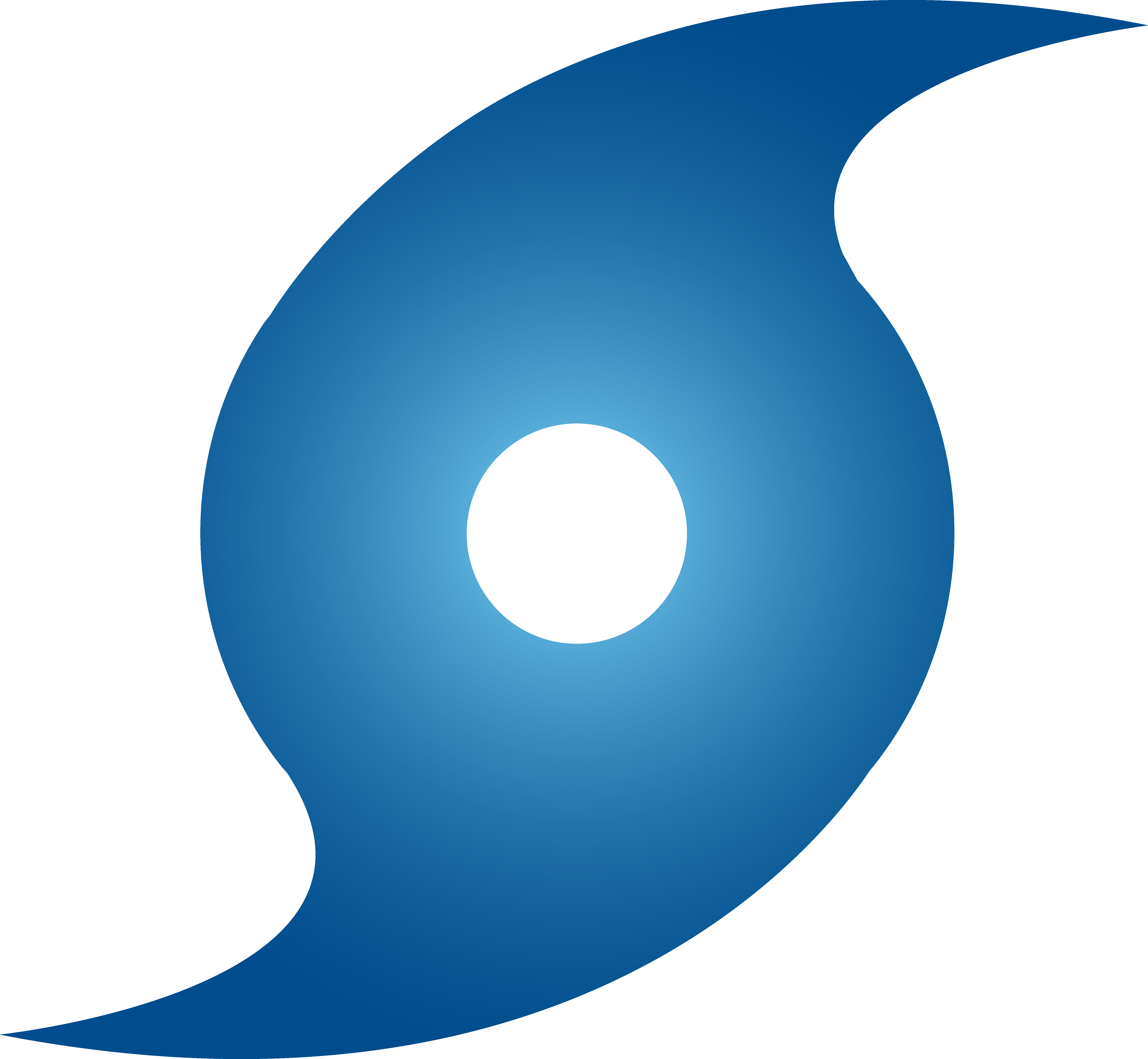 6197x5717 Blue Hurricane Weather Symbol