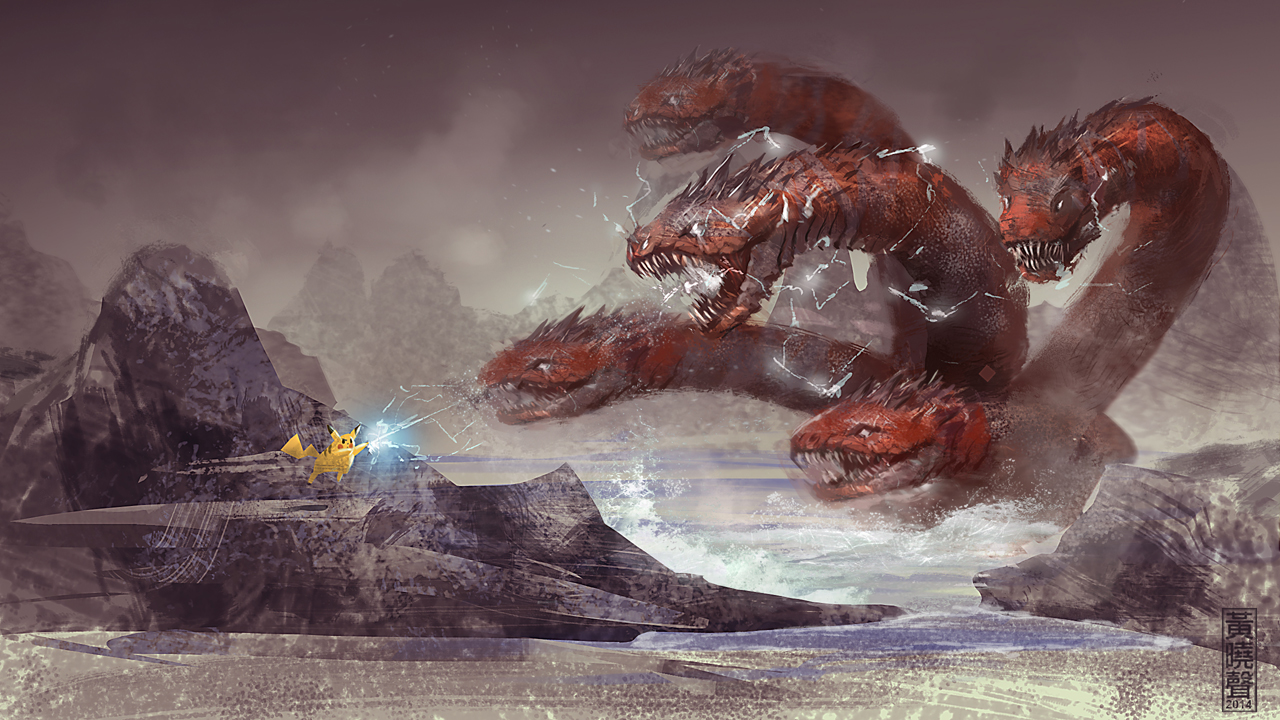 1280x720 Hydra Digital Painting Tutorial Speedpainting