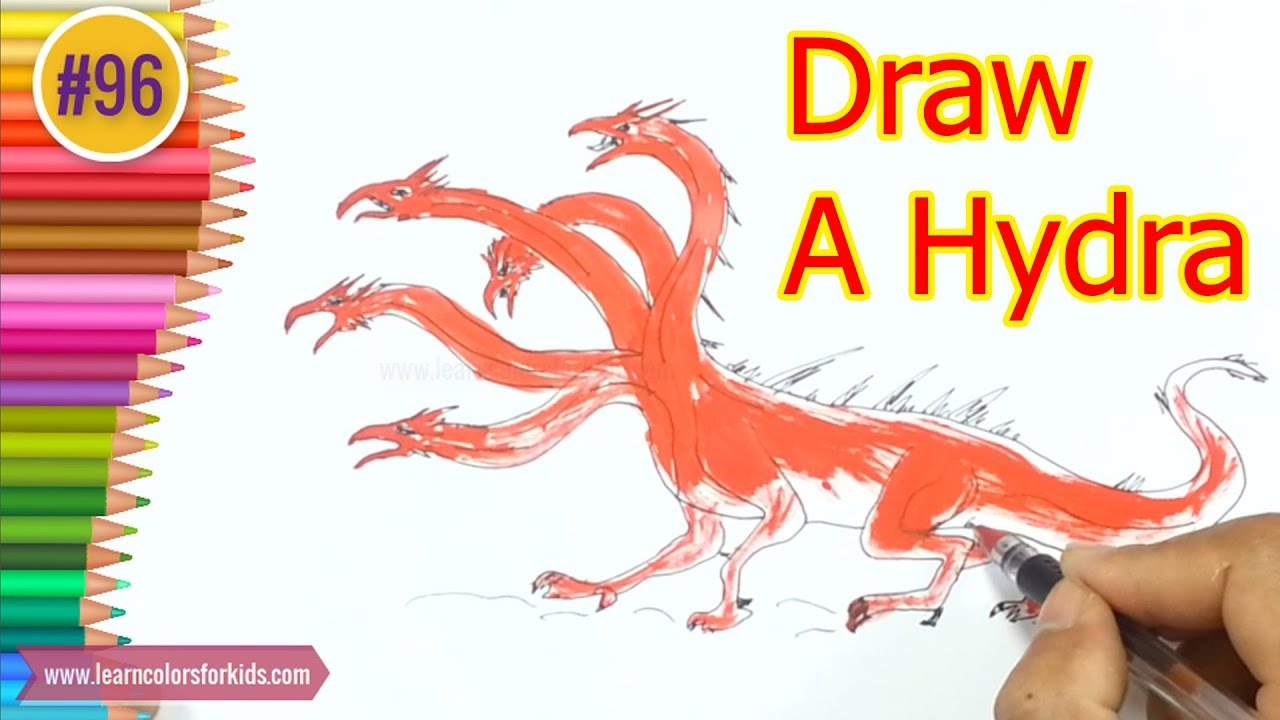 1280x720 Learn How To Draw A Hydra