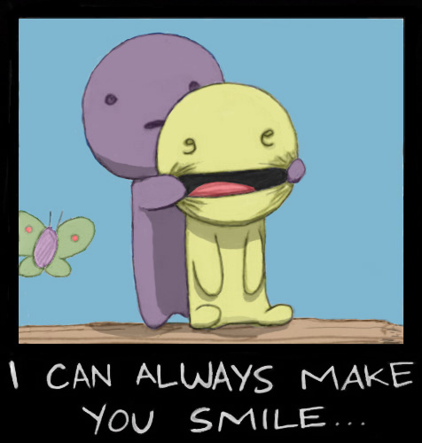 476x500 I Can Always Make You Smile By Praerion