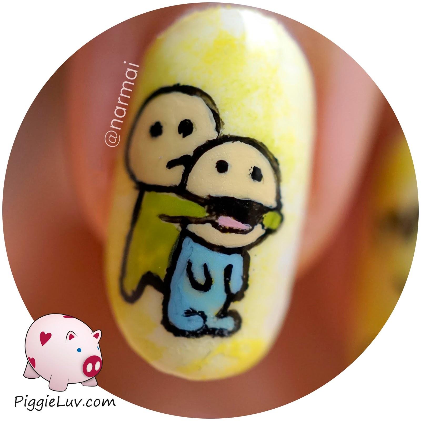 1600x1600 Piggieluv I Can Always Make You Smile! Happy Nail Art
