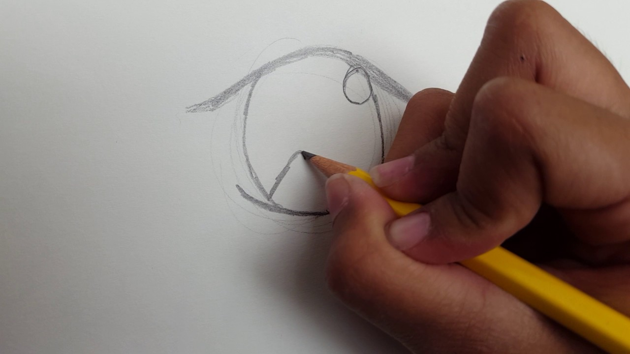 1280x720 Easy Anime Eye Drawing Tutorial