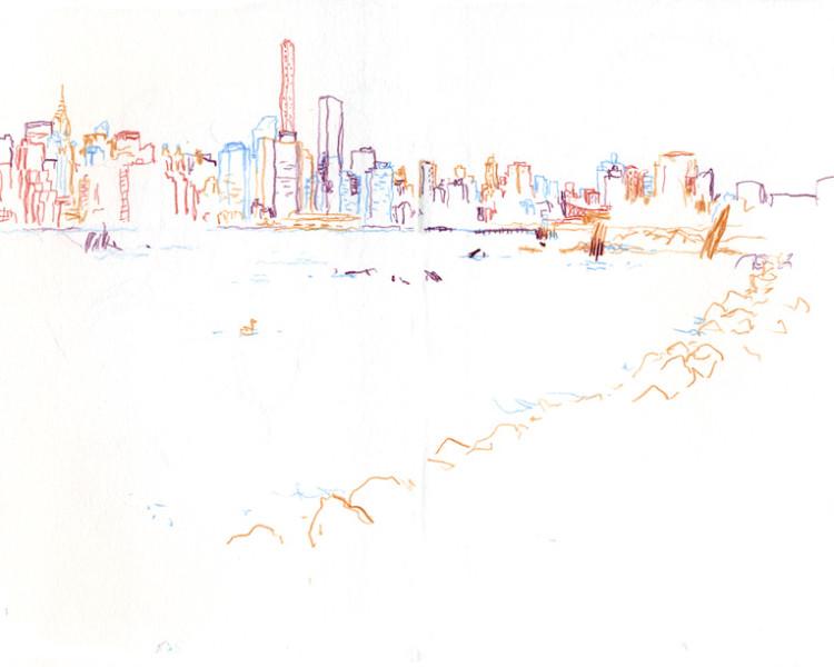 750x600 New York I Draw America