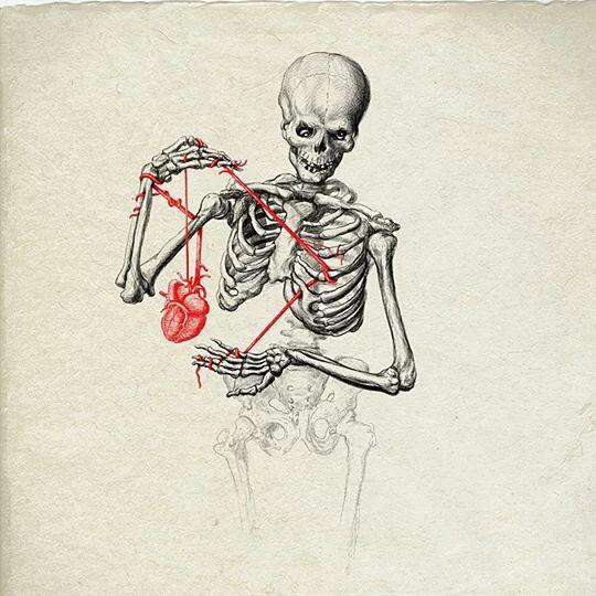 540x540 I Give You My Heart Skulls