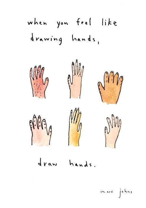 470x668 When You Feel Like Drawing Hands, Draw Hands. Love!