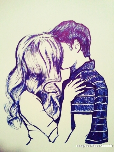 400x533 My Drawing Of Us .i Love You Jenette! Extra