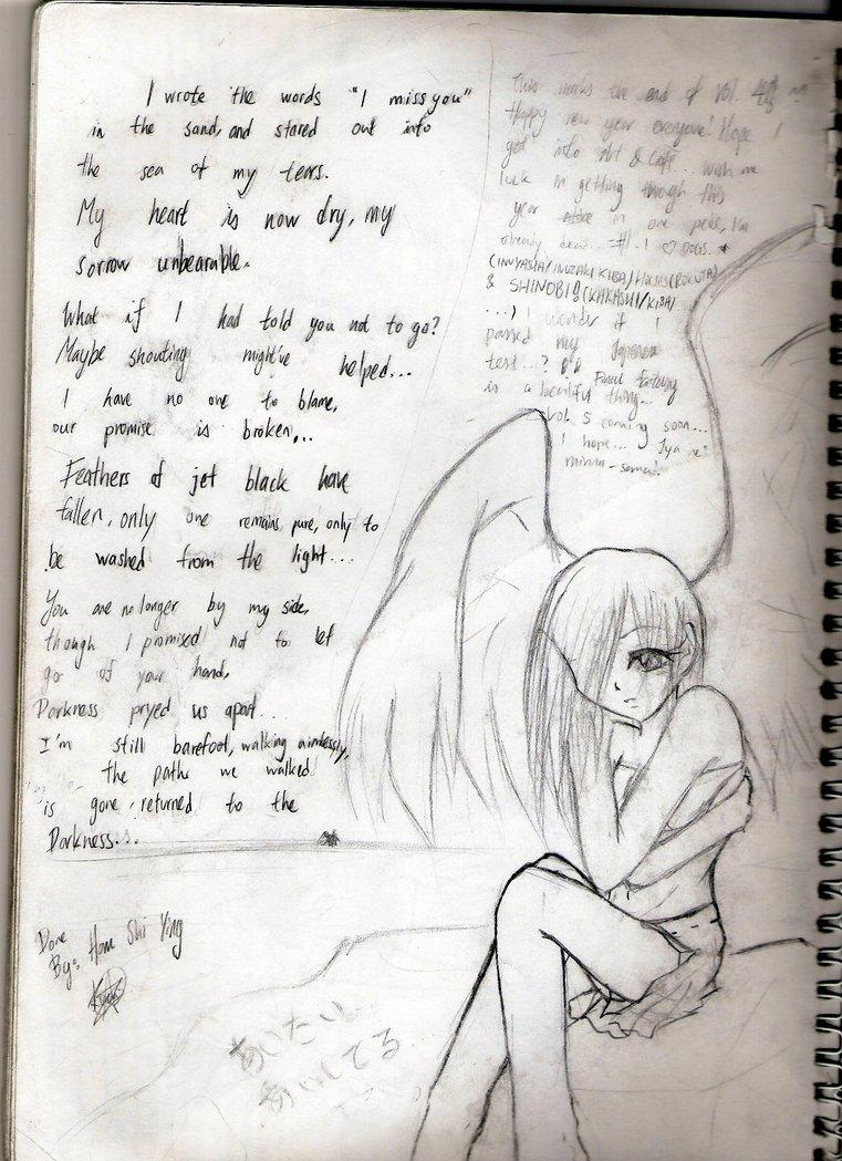761x1049 Anime I Miss You By Kyuuketsuki Miko