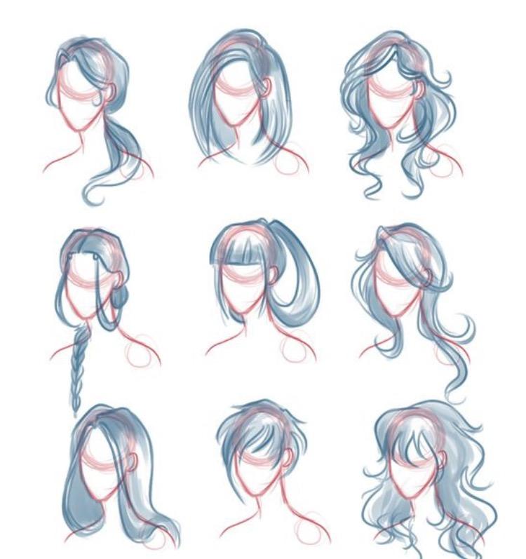 750x797 Drawing Hair Help To Draw Comics Drawing Hair