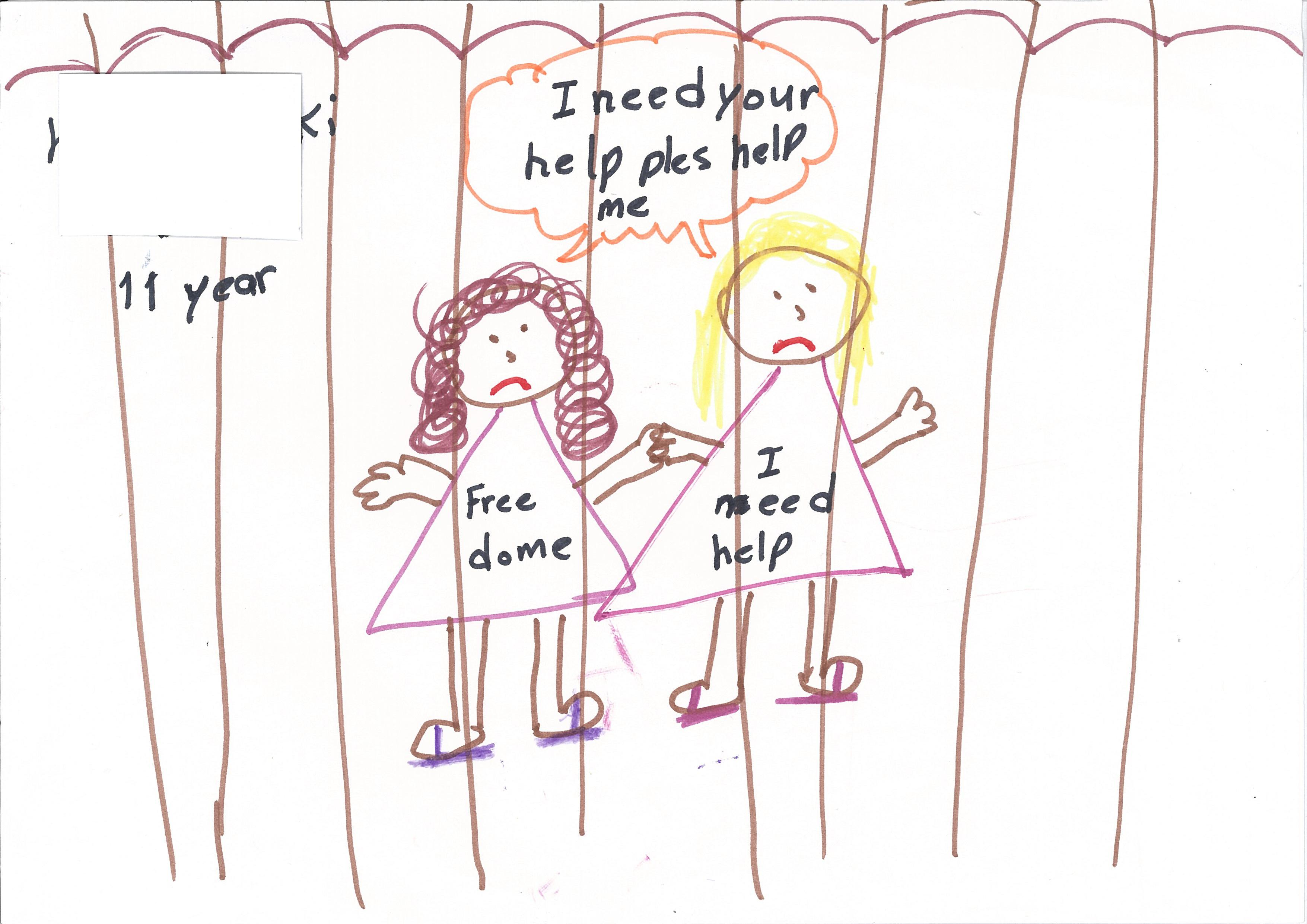 3510x2482 What Can We Draw From Pictures By Detained Child Asylum Seekers