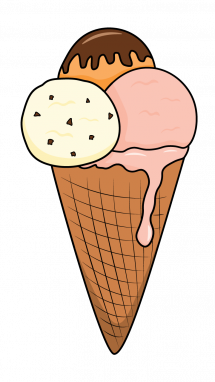 215x382 How To Draw An Ice Cream, Food, Summer Items, Easy Step By Step