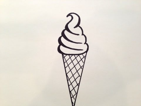 480x360 How To Draw An Ice Cream Cone