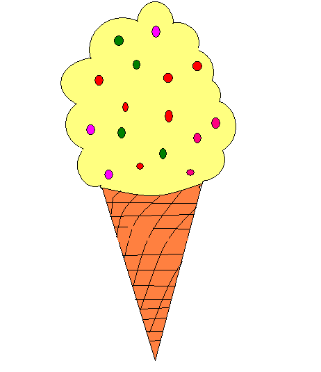 462x535 How To Draw An Ice Cream Cone