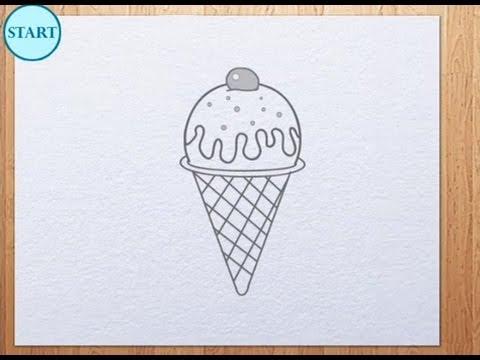 480x360 How To Draw Ice Cream