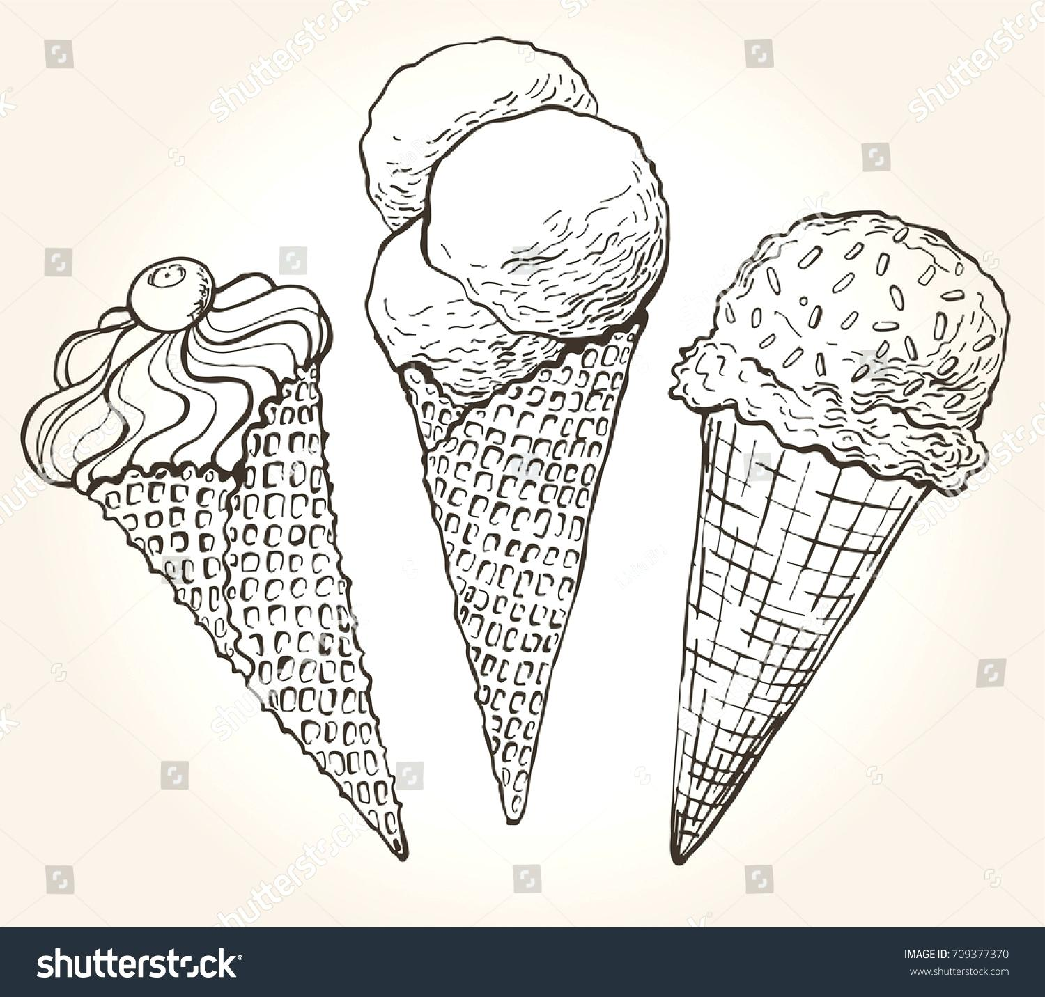 1500x1432 Ice Cream Scoop Template