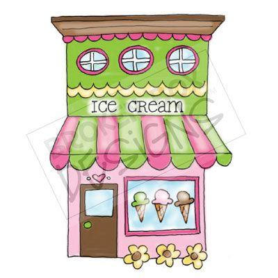 400x400 Boutique Buildings Ice Cream Templates Building