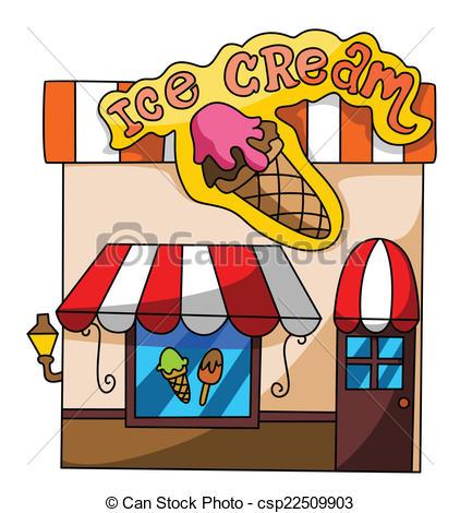 422x470 Drawn Store Ice Cream Shop