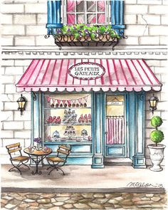 236x295 Goodies Ice Cream Parlor, A Painting Of An Old Fashioned Ice Cream
