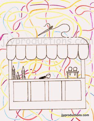 311x400 Ice Cream Parlour Commission Complete