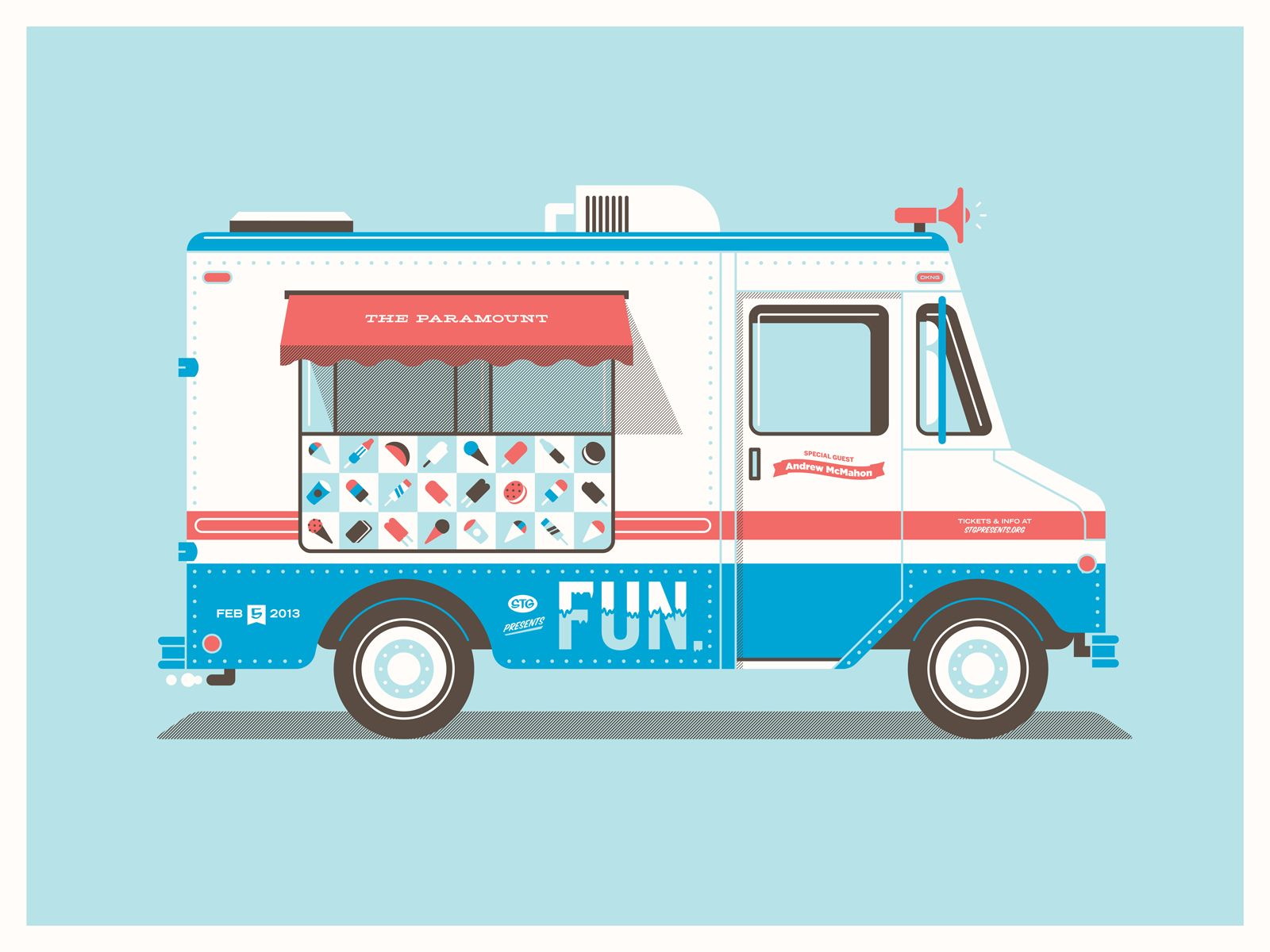 1600x1200 Fun's Seattle Ice Cream Truck Studio, Illustrations And Flat