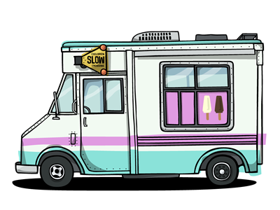 400x300 Ice Cream Truck By Kyle Steed