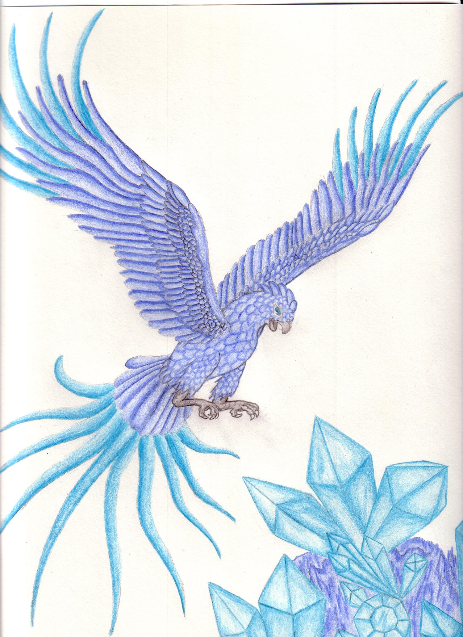 1500x2063 Ice Phoenix By Crystal Ice47