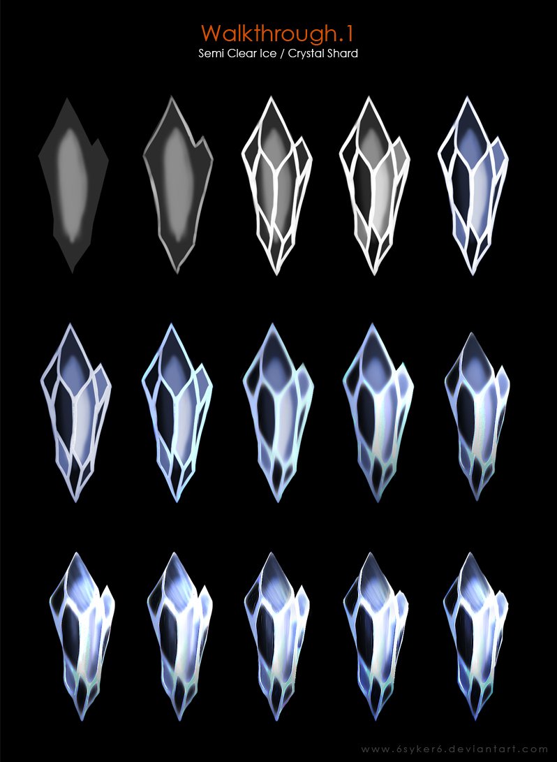 798x1091 Walkthrough.1 [Semi Clear Ice Crystal Shard] By 6syker6