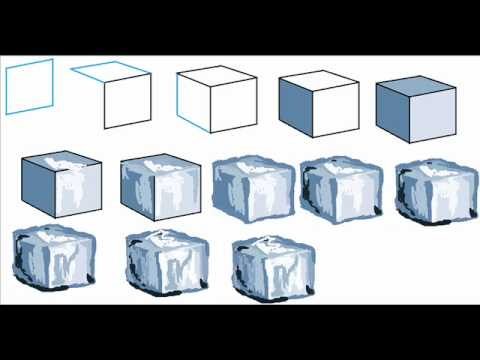 480x360 How To Draw An Ice Cube Easy Simple Step By Step Drawing Tutorial