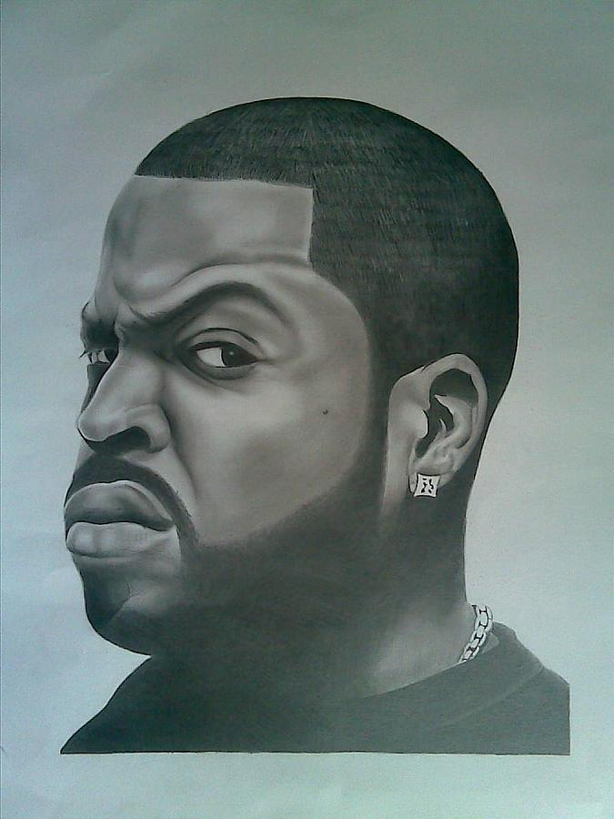 675x900 Ice Cube Drawing By Edward Onsoh